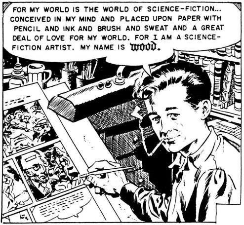 wally-wood-self-portrait-from-my-world-ec-comics-1953